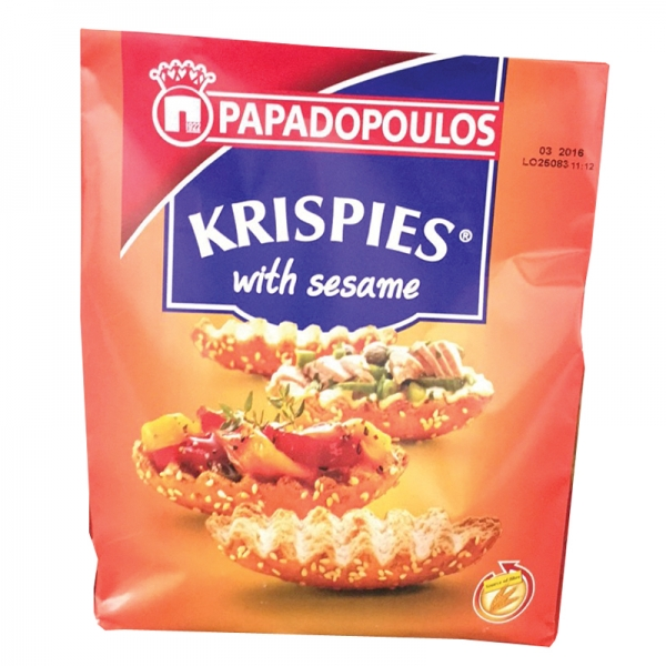 KRISPIES WITH SESAME