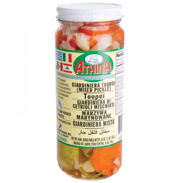 GIARDINIERA TOURSI (MIXED PICKLE), GREEK