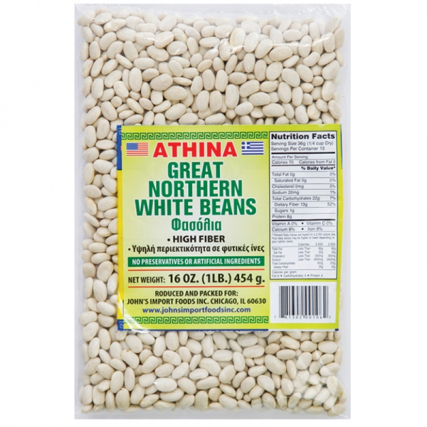 GREAT NORTHERN WHITE BEANS