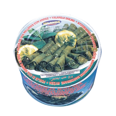 DOLMADES (STUFFED GRAPE LEAVES WITH RICE)