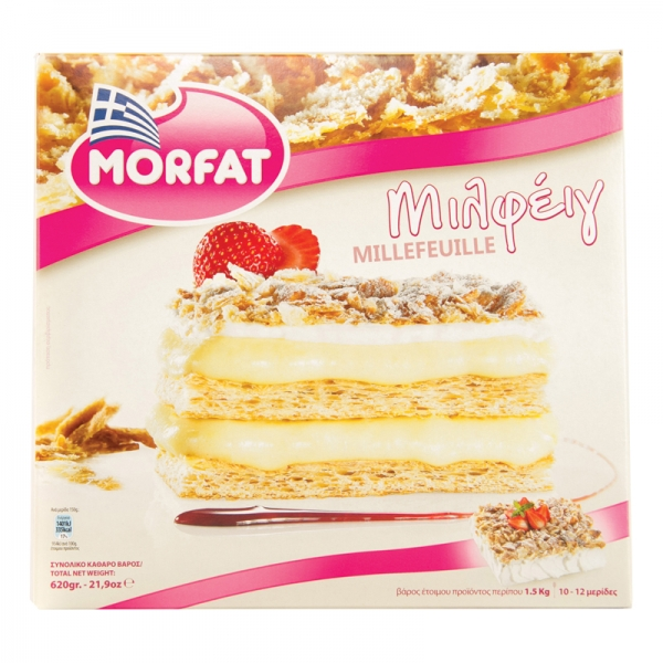 TOURTA (CAKE) MILLEFEUILLES, GREEK