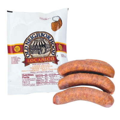 GREEK LOUKANICO, (SAUSAGE) FULLY COOKED