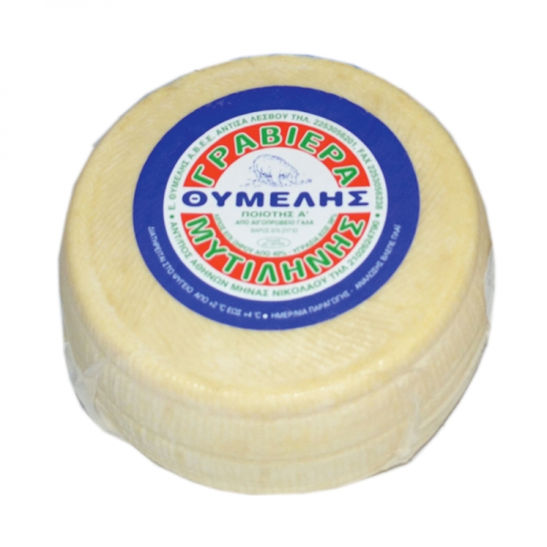 MITILINIS GREEK GRAVIERA CHEESE, 100% SHEEP'S MILK