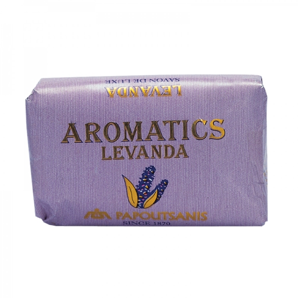 LEVANDA SOAP AROMATIC PAPOUTSANIS, FROM GREECE