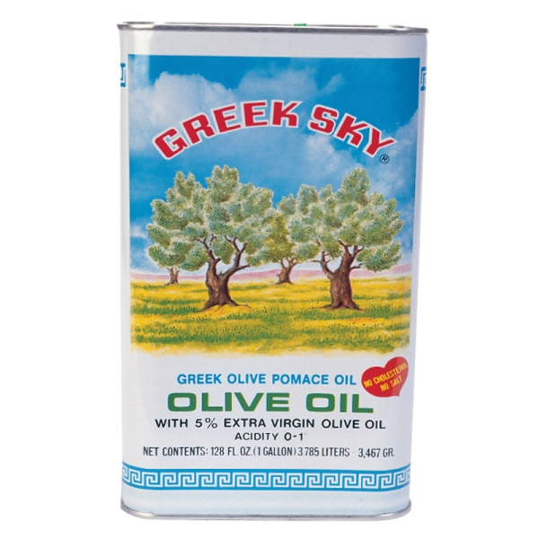 GREEK SKY OLIVE OIL POMACE, WITH  5% EXTRA VIRGIN