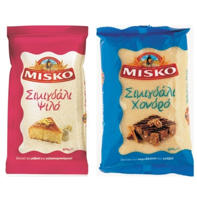 SEMOLINA FINE AND COARSE, MISKO