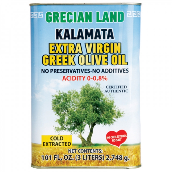 GRECIAN LAND KALAMATA EXTRA VIRGIN OLIVE OIL