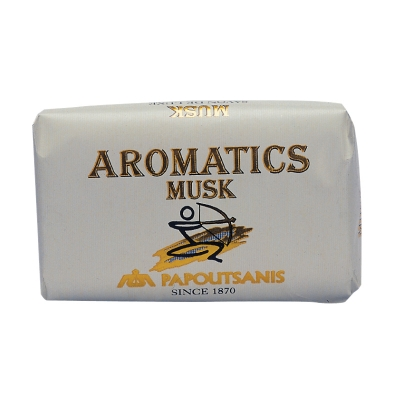 MUSK SOAP AROMATIC PAPOUTSANIS, FROM GREECE